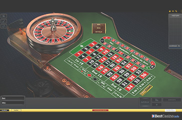 NewAR Roulette: a nice table game played at EuroGrand casino