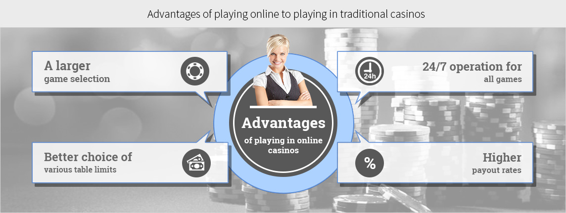 There are numerous advantages to playing games online